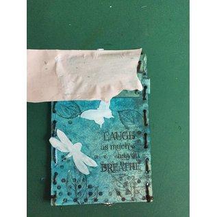 Stamperia und Florella Stamperia Carta di trasferimento A4, farfalle e libellula