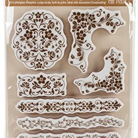 Stamperia Stamperia Natural Rubber Stamps Bordures