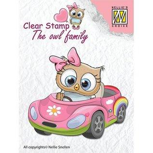 Nellie Snellen Nellie Snellen, Transparent Stamp: Car