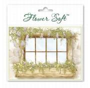 BASTELSETS / CRAFT KITS Blomst Soft, 6 kort med blomstermotiv motiv