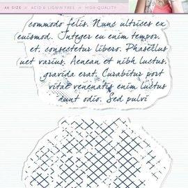 Crafter's Companion Timbro trasparente: Script
