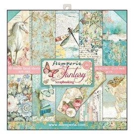 Stamperia NYHED! Stamperia: Scrapbooking Paperblock, Wonderland