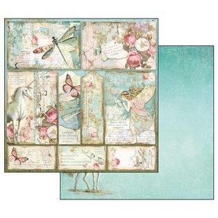 Stamperia und Florella NEU! Stamperia: Scrapbooking Paperblock, Wonderland
