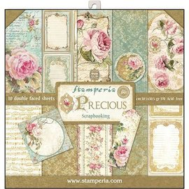 Stamperia und Florella NUOVO! Stamperia: Scrapbooking Paperblock, Prezioso
