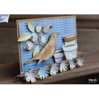 Joy!Crafts / Jeanine´s Art, Hobby Solutions Dies /  Joy!Crafts, cutting and embossing template: Corner Butterfly - Copy