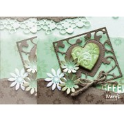 Joy!Crafts / Jeanine´s Art, Hobby Solutions Dies /  Punching and embossing stencil: square with heart