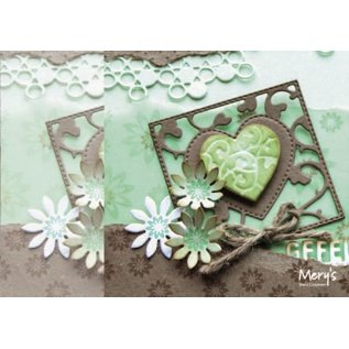Joy!Crafts / Jeanine´s Art, Hobby Solutions Dies /  Punzonatura e goffratura stencil: piazza con cuore