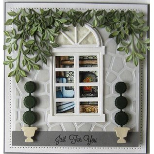 CREATIVE EXPRESSIONS und COUTURE CREATIONS Stanzschablone: Arched Window/Door