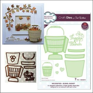 CREATIVE EXPRESSIONS und COUTURE CREATIONS cutting and emboss template: Basket