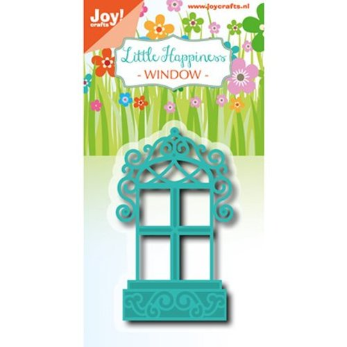 Joy!Crafts / Jeanine´s Art, Hobby Solutions Dies /  Joy!Crafts, cutting and embossing template: Deco window