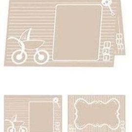 embossing Präge Folder Carpeta de Grabación en A4: Bebé