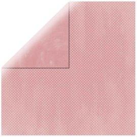 Karten und Scrapbooking Papier, Papier blöcke Papel de Scrapbooking Double Dot baby pink