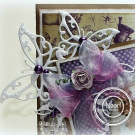 Joy!Crafts / Jeanine´s Art, Hobby Solutions Dies /  Joy! Crafts, coupe et gaufrage modèle: Butterfly Corner
