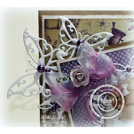Joy!Crafts / Jeanine´s Art, Hobby Solutions Dies /  Joy! Crafts, modello di taglio e goffratura: Butterfly Corner
