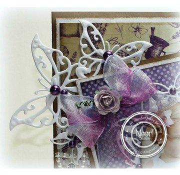 Joy!Crafts / Jeanine´s Art, Hobby Solutions Dies /  Glæde! Håndværk, skæring og prægning skabelon: Butterfly Corner