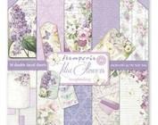 Scrapbooking et papier cartonné: Fleurs lilas