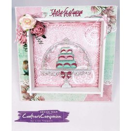 Crafter's Companion Cutting and embossing template: Vintage Tea Party, Sweet