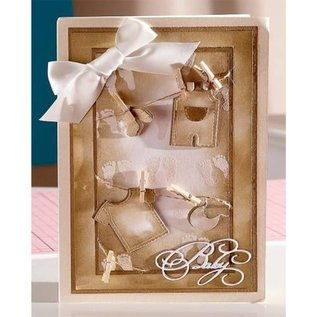 Craftemotions Sara Signature Collection Kleine Engel Metal template: Thema van de baby
