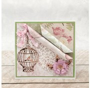 CREATIVE EXPRESSIONS und COUTURE CREATIONS Joy!Crafts, cutting and embossing template: bird cage