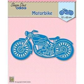 Nellie Snellen Stanzschablone: Motorbike