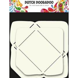 Dutch DooBaDoo Plantilla de arte para el diseño de sobres en 2 tamaños