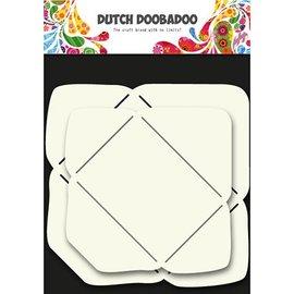 Dutch DooBaDoo Kunstsjabloon voor het ontwerpen van enveloppen in 2 formaten