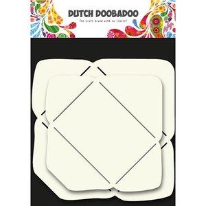 Dutch DooBaDoo Kunstschablone zur Gestaltung von Umschläge in 2 Größe