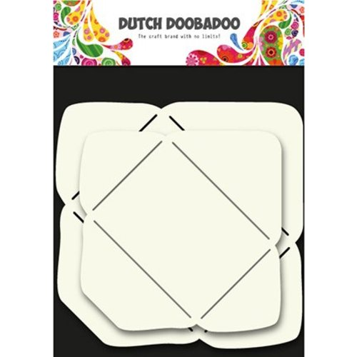 Dutch DooBaDoo Art template for the design of envelopes in 2 sizes