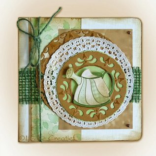 CREATIVE EXPRESSIONS und COUTURE CREATIONS Joy!Crafts, Snij  en embossing sjabloon:   Lace cirkels