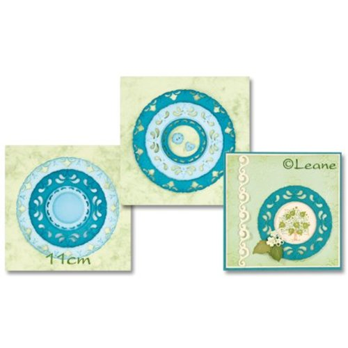 CREATIVE EXPRESSIONS und COUTURE CREATIONS Joy!Crafts, cutting and embossing template: Lattice Envelope Edger - Copy