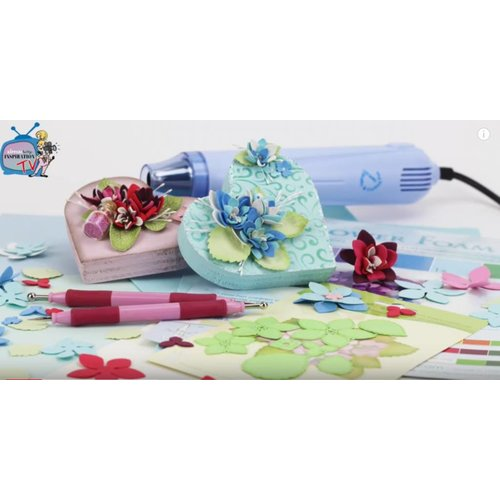 Stanzschablone: Hydrangea par Lea'bilities Leane Creatief