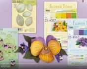 Leane Creatief Flower Foam: 3D Pansy