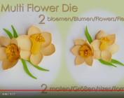 Leane Creatief Flower Foam: Jonquille 3D