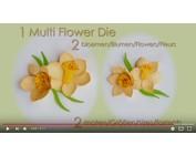 Leane Creatief Flower Foam: 3D Daffodil