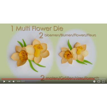 Leane Creatief Flower Foam: 3D Narzisse
