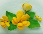Leane Creatief Flower Skum: 3D Skum Blomster