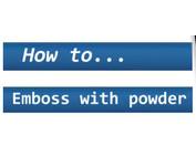 Tips & Tricks voor mooie embossing-effecten!