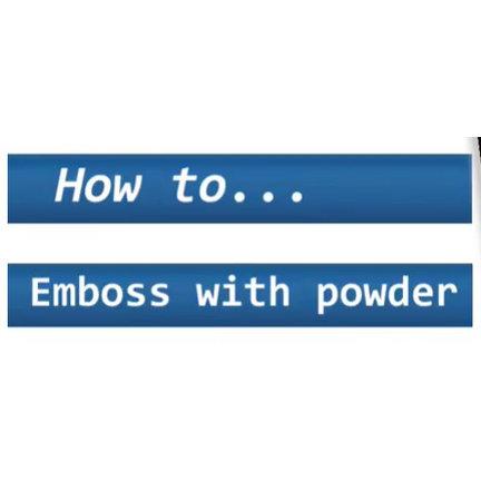 Tipps & Tricks für hübsche Embossing Effekte!