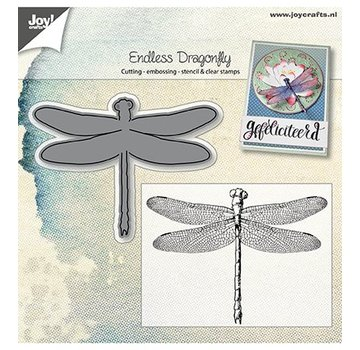 Joy!Crafts / Jeanine´s Art, Hobby Solutions Dies /  Joy! Crafts, cutting and embossing template: Dragonfly