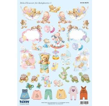 Bilder, 3D Bilder und ausgestanzte Teile usw... NOUVEAU! 35 pièces! Accessoires bébé, 240 g