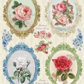 Bilder, 3D Bilder und ausgestanzte Teile usw... Die cut, frame Vintage Roses - Copy