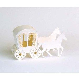 Bilder, 3D Bilder und ausgestanzte Teile usw... 1 punched sheet carriage A4 sheet 240g cardboard