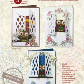 Bilder, 3D Bilder und ausgestanzte Teile usw... 3D stanseblad sæt blomsterpragt - Copy