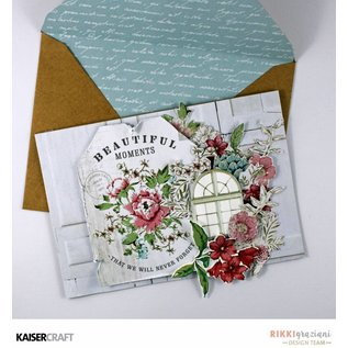 Kaisercraft und K&Company Kaisercraft decorative stamping template, Rose avenue