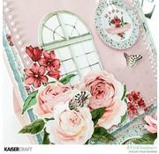 Kaisercraft und K&Company Kaisercraft modèle d'estampage décoratif, Rose avenue
