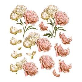 """Bilder, 3D Bilder und ausgestanzte Teile usw... Arco Decoupage A4, Vintage Roses, """"C'est La Vie"""""""