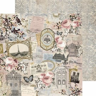 "Kaisercraft und K&Company Cards and scrapbooking paper, ""Romantique"", 30.5 x 30.5 cm"