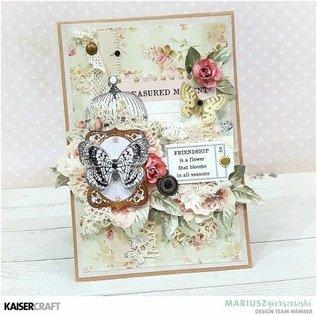 Kaisercraft und K&Company Kaisercraft verzamelobjecten Romantique, 45 ornamenten