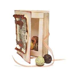 Dutch DooBaDoo Kunst Verpackungsschablone Buchdose