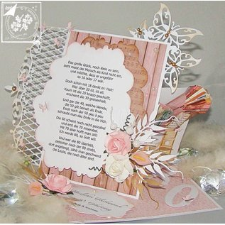 Joy!Crafts / Jeanine´s Art, Hobby Solutions Dies /  Snij  en embossing sjabloon:  lace rand